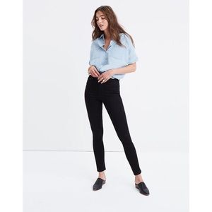 """Madewell 10"""" High Rise Skinny Jeans in Carbondale"""